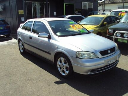 2003 Holden Astra TS SRI Silver 5 Speed Manual Hatchback Punchbowl 2196 Canterbury Area Preview