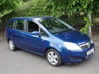 Vauxhall Zafira 1.9CDTI EXCLUSIV DPF 120PS (blue) 2008