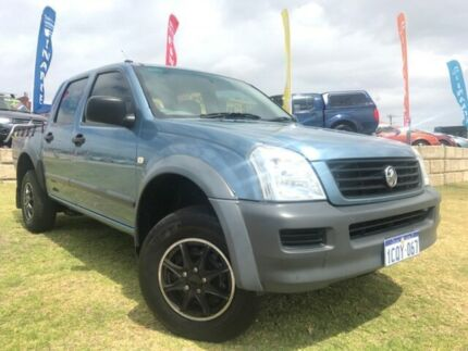 2006 Holden Rodeo RA MY06 LX Crew Cab Blue 4 Speed Automatic Utility