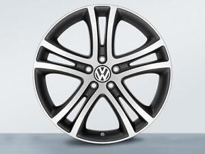 "NEW in BOX VW OEM 19"" Savannah Wheels Rims Jetta Golf GTI Tiguan"