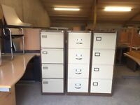 Filing cabinets for sale 4x drawer