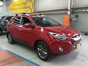 2014 Hyundai ix35 LM3 MY14 Elite Burgundy 6 Speed Sports Automatic Wagon Maryville Newcastle Area Preview