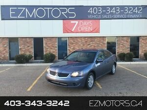 2007 Mitsubishi Galant LOW KMS=SUNROOF=WARRANTY=FACTORY WARRANTY