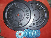 Getting Big? 46kg, You need these, heavy plates, the only way to progress.
