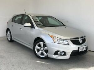 2012 Holden Cruze JH Series II MY13 SRi-V Silver 6 Speed Manual Hatchback Mount Gambier Grant Area Preview