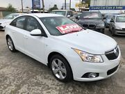 2014 Holden Cruze JH Series II MY14 Equipe Heron White 6 Speed Sports Automatic Sedan Park Holme Marion Area Preview