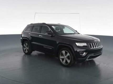 2014 Jeep Grand Cherokee WK MY14 Limited (4x4) Black 8 Speed Automatic Wagon