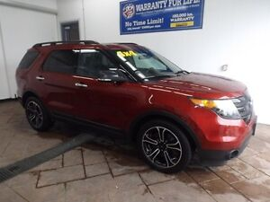 2014 Ford Explorer Sport LEATHER NAVI SUNROOF