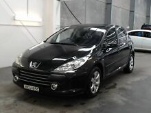 2007 Peugeot 307 MY06 Upgrade XSE HDI 2.0 Black 6 Speed Tiptronic Hatchback Beresfield Newcastle Area Preview