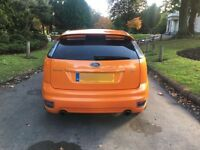 FORD FOCUS 2.5 ST 3 ORANGE 2006 RECARO SEATS FULLY LOADED NOT ST 2 RS TURBO