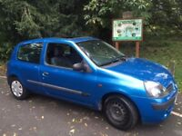 Renault Clio 1.2 16v Expression 3dr - Full MOT