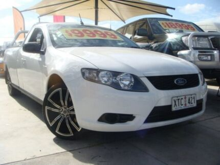 2008 Ford Falcon FG Ute Super Cab White 4 Speed Sports Automatic Utility Enfield Port Adelaide Area Preview