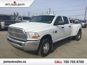 2011 Dodge Ram 3500 SLT DIESEL 4x4 Crew Cab 8 FT Dually