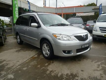 2005 Mazda MPV LW10J2 Silver 5 Speed Automatic Wagon Holroyd Parramatta Area Preview