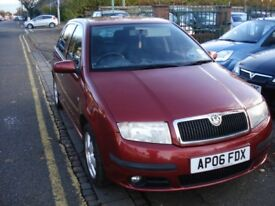 SkodaFABIA 1.2 HTP 12v Sport 5dr, 2006 model, FSH, clean car drives well long mot new tyres