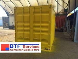 10FT, 20FT & 40FT SHIPPING CONTAINERS FOR SALE - BRISBANE Brisbane City Brisbane North West Preview