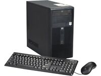 "HP TOWER PC DX2300 3GB 2GHZ CORE 2 DUO 250GB DVDRW 17"" TFT MONITOR WINDOWS 7 HOME PREMIUM"