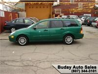 2002 FORD FOCUS WAGON. SE.