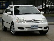 2007 Toyota Corolla ZRE152R Ascent White 4 Speed Automatic Sedan Oakleigh South Monash Area Preview