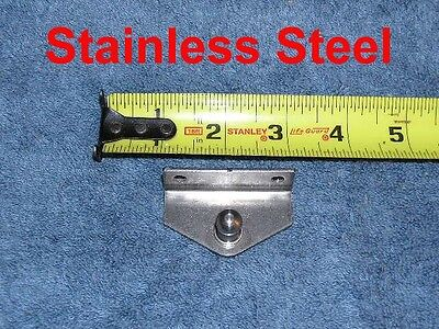 Stainless Nitro-Prop NEW Strut Marine Boat INSIDE Angle Bracket Plate Mount !0mm