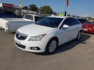 2012 Holden Cruze JH MY13 CDX White 6 Speed Automatic Sedan Officer Cardinia Area Preview