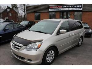 2005 Honda Odyssey EX 8 Passenger Winter Tires/Rims included!