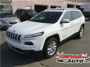 Jeep Cherokee Limited V6 4x4 Navigation Toit Panoramique Cuir MA