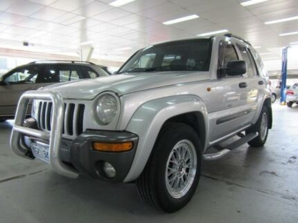 2004 Jeep Cherokee KJ Extreme Sport ED Silver 4 Speed Automatic Wagon Fyshwick South Canberra Preview