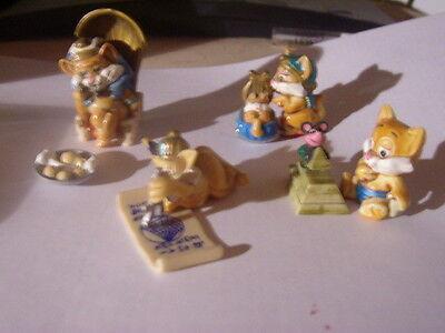 Ü-Eier-Figur Miezi Cats 4 Stück mit BPZ