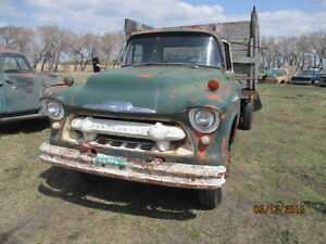 55 and 57 chev 2 tons