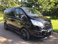 2014 FORD TRANSIT CUSTOM 2.2 290 LIMITED 125 BHP RS STYLING CARPETED AIR CON