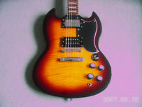 Gibson Epiphone SG with Gibson Pickup