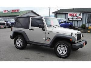 2007 Jeep Wrangler X 6-Speed