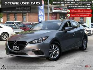 2014 Mazda Mazda3 GS-SKY ACCIDENT FREE! ONE OWNER! Finance!