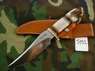 RANDALL KNIFE KNIVES RARE 50 YEAR COMMEMORATIVE,SS,BSH,STAG/CROWN BUTT #5352