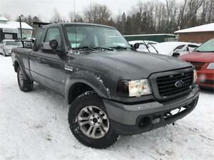 2009 Ford Ranger Sport Supercab 4-Door 4X4 5-Speed Manual