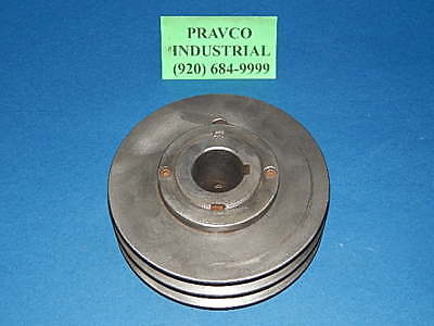 Double Groove Variable Speed Pulley Sheave 7-18 7.125 Od