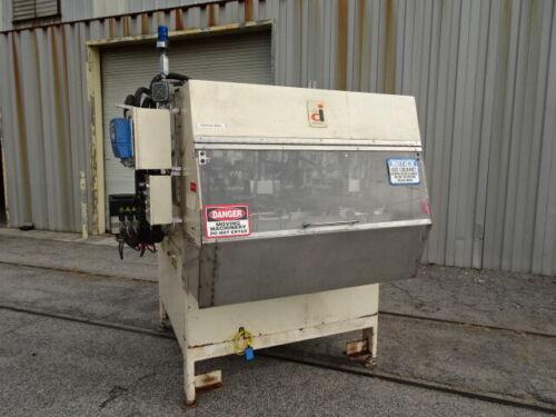 Delkor 752 Dual-Mandrel Tray Former w/ ITW Challenger Hot Melt Glue
