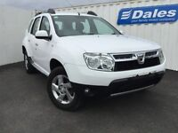 Dacia Duster 1.5 dCi 110 Laureate 5Dr Estate (white-qm1) 2014