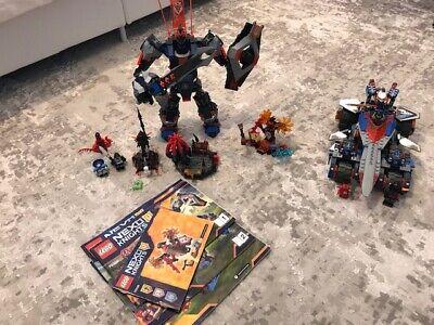 Lot of Lego Nexo Knights Set 70326 Mech, 70315 Rumble Blade, 70338 Magmar