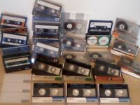 SONY NORMAL BIAS CASSETTE TAPES AHF - BHF -CHF - EF - FX1 - HF - HF.S - HFE.S : C60 /C90 USED TAPES.