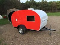 Teardrop caravan custom made