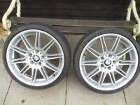 BMW 19 inch wheels (TWO)