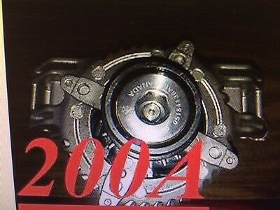 Jeep Truck Grand Cherokee 3.6L 3604cc 220cid VIN G 2011-2014 HIGH AMP ALTERNATOR