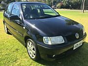 2001 Volkswagen Polo A03 MY2001 16V Black 4 Speed Automatic Hatchback Somerton Park Holdfast Bay Preview