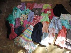 Girl sz 3 summer cloths/LInge de fille gr 3