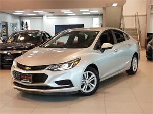 2017 Chevrolet Cruze LT-AUTO-CAMERA-HEATED SEATS-ONLY 81KM