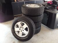 Tires - Almost New - P255/70R18 - BF Goodrich Rugged Terrain T/A