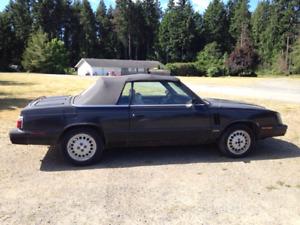 1985 Dodge 600 ES Convertible