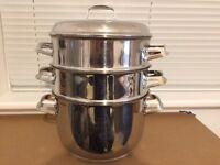 Hackman Stainless Steel Steamer / pot